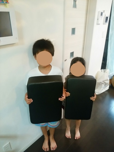 KICK MITTと幼稚園 保育園児