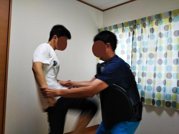 プロフェッショナル プロテクター膝蹴り